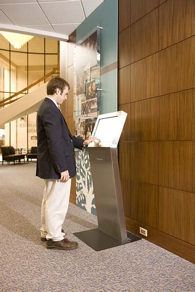 Designed as a freestanding kiosk, it can be integrated with both ticketing and dispensing the razor 2.0 freestanding kiosk offers a modern, flexible design ideal for indoor digital signage, directory. Freestanding Kiosk - Advanced Kiosks