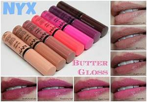 NYX Butter Gloss: New Shades For 2014 | NYX | Pinterest ...