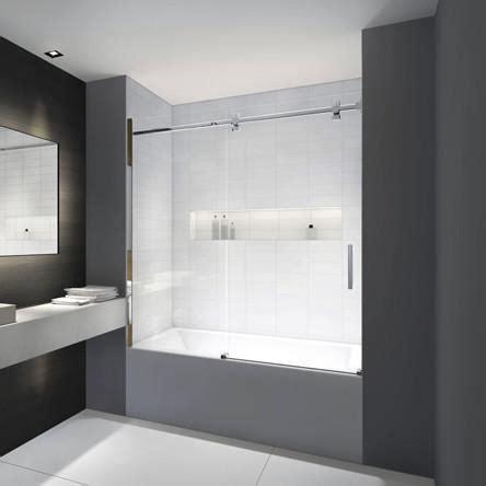 acryline bathtub door axis alcove canaroma bath tile