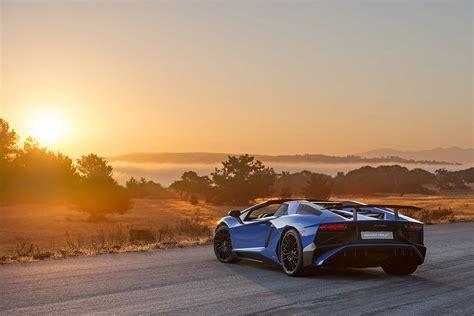 2016, Aventador, Lamborghini, Lp750 4, Roadster, Supercar ...