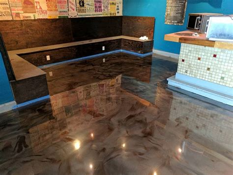Garage fx epoxy flooring® offers the largest variety of flooring colors and styles. Pin on Metallic epoxy floor