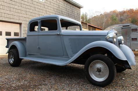 1933 Dodge Exrened Cab Pickup Street Rod Custom Pickup For