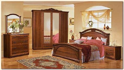 les chambre a coucher en bois d 233 co chambre a coucher bois nirgos