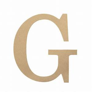 10quot decorative wood letter g ab2031 craftoutletcom With wooden letter g