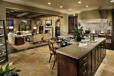 kitchen and living room open concept designs open concept kitchen living room design ideas built ins 9640
