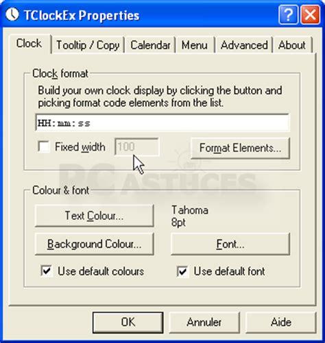 afficher l horloge sur le bureau windows 7 comment afficher l heure windows 8