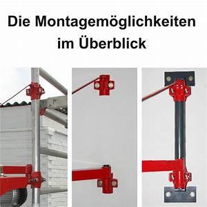 Seilzug Schwenkarm Wandmontage : schwenkarmhalterung kst1000 750 kranarm mit 1000 kg traglast ~ Orissabook.com Haus und Dekorationen