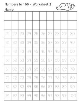 writing numbers     summer themed worksheets