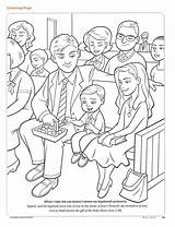 Coloring Lds Pages Primary Jesus Friend Sacrament Lesson Baptism Christ Church Magazine Printable Living Covenants Activities Clean Lessons Baptismal Remember sketch template