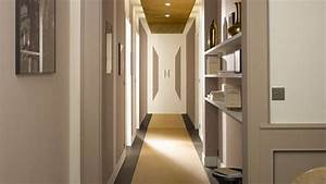 photos bild galeria decoration couloir With amazing peindre une entree et un couloir 6 decoration hall d entree escalier