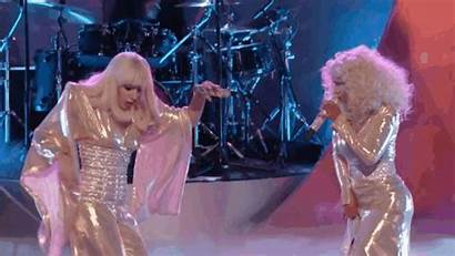 Gaga Lady Christina Aguilera Voice Moments Wardrobe