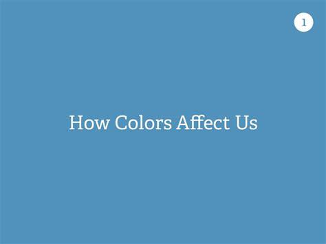 how colour affects us how colors affect us 1