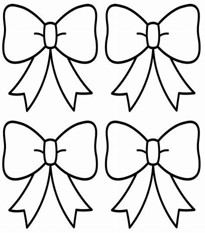 Coloring Pages Bow Clothes