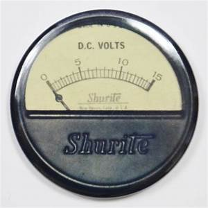 Shurite Steampunk Gauge FRIDGE MAGNET Meter Vintage Style