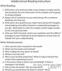 So You Think You Can Learn  Assigned Reading How To