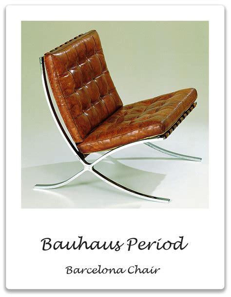 bauhaus period barcelona chair xena barlow