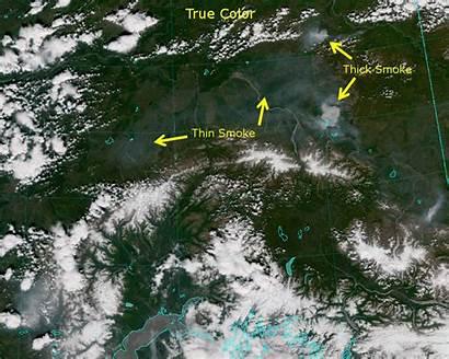 Natural True Land Comparing Fires Cira Utc