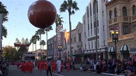 universal studios florida macy s holiday parade and 2013