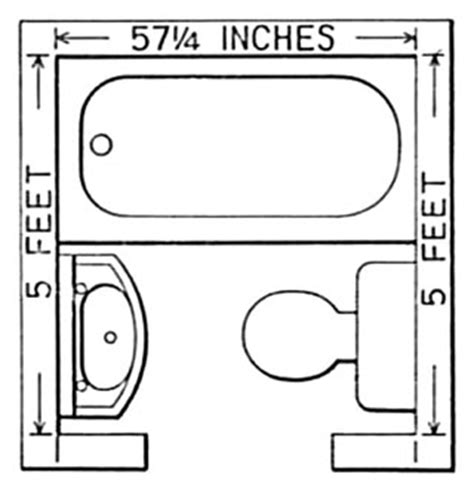 Small Bathroom Plans 5 X 7 by Small Bathroom Floor Plans On Bathroom