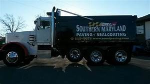 vinyl lettering southern maryland paving sealcoating With big truck lettering