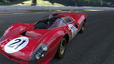 ferrari  p race car
