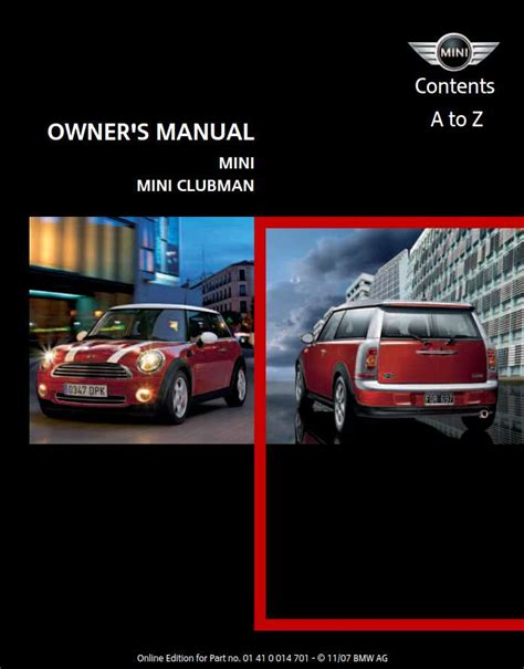 car owners manuals free downloads 2011 mini cooper countryman electronic valve timing mini cooper 2008 owner s manual pdf online download
