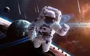 Astronaut In Space Wallpaper Free Download For Desktop in ...