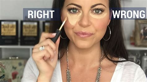 How To Apply Concealer The Right Way Makeup Tutorial