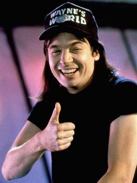 Wayne's World Thumbs Up Blank Template  Imgflip