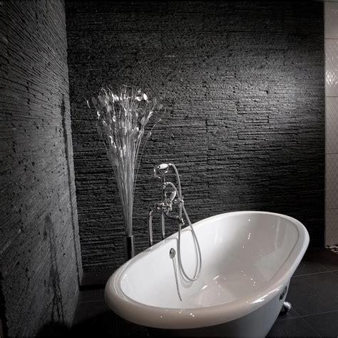 impermeabilisant salle de bain plaquette de parement naturelle noir leroy merlin