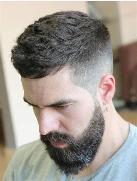outstanding caesar haircut  men