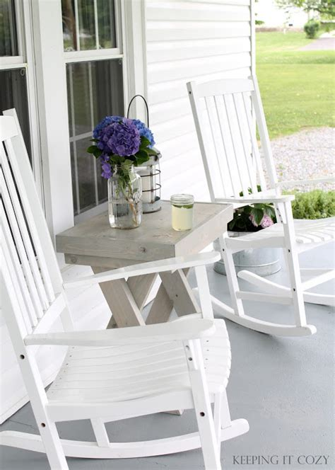 Porch Table And Chairs by Keeping It Cozy The Front Porch Diy Ideas Porch