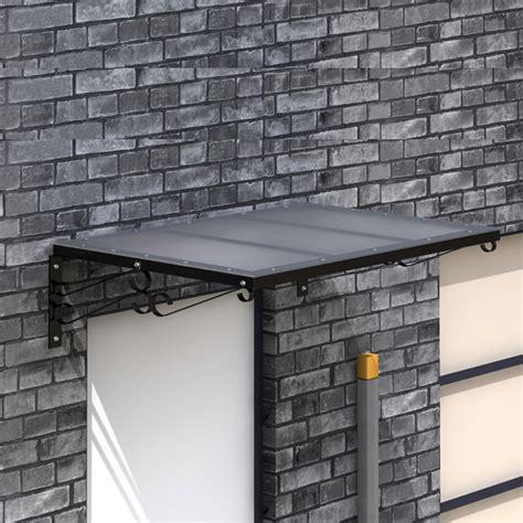marquise pour porte entree nouveau auvent marquise fer pour porte d entr 233 e en polycarbonate et fer ebay