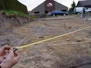Ordre Des Travaux Construction Maison : tracer la maison sur le terrain il faut bien pr parer le ~ Premium-room.com Idées de Décoration