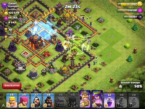 clash of clans 11 49 9 آخرین آپدیت کلش آف کلنز اندروید