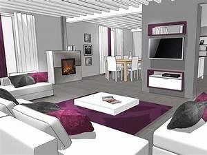 model de maison moderne interieur meilleures images d With modele deco interieur maison
