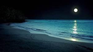 Beach at night by MyraAlex on DeviantArt