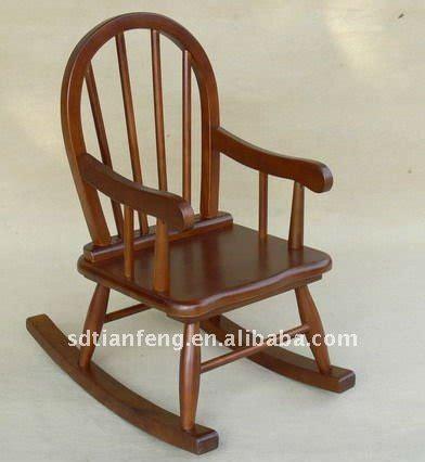 silla de oscilaci 243 n de madera para ni 241 os sillas de madera