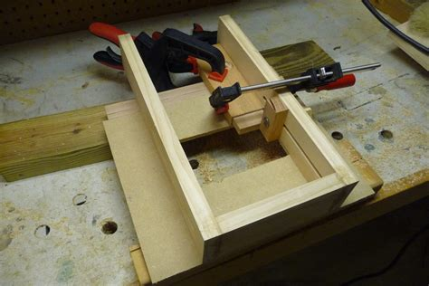 tenonmeister  ultimate simple adjustable tenon jig
