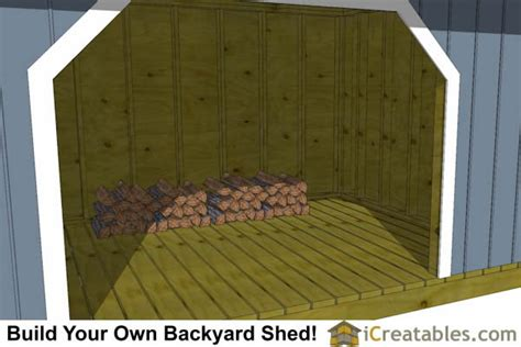 firewood shed plans icreatablescom