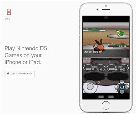 nintendo ds emulator iphone inds emulator lets you play nintendo ds on your