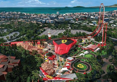ferrari land theme park  spain simplemost