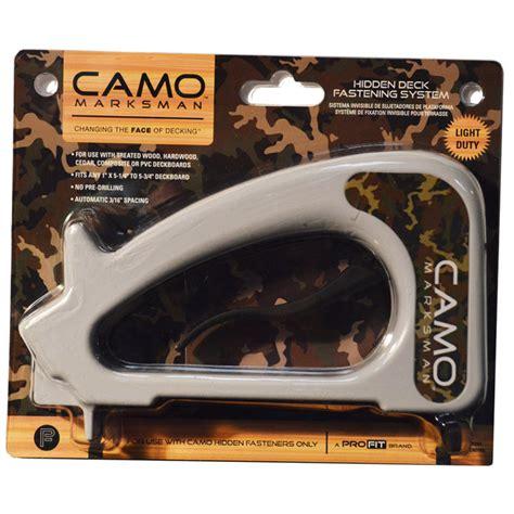 camo marksman deck board fastener tool at mills fleet farm