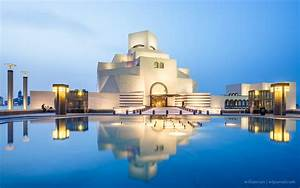 A, Night, At, The, Museum, Of, Islamic, Art, Doha, Qatar