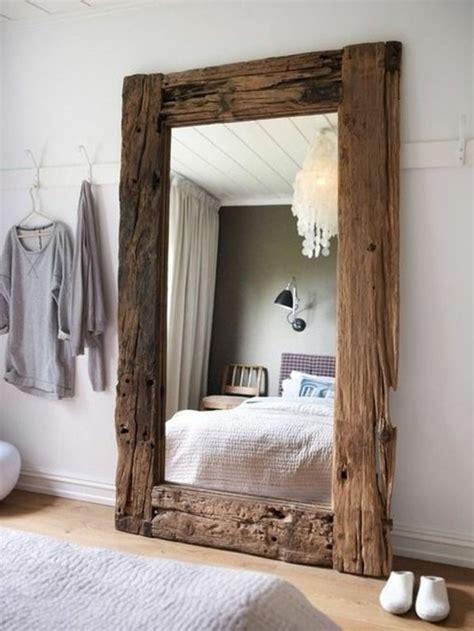 mirroir chambre 76 idées avec un miroir grand format archzine fr