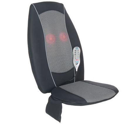 homedics therapistselect shiatsu plus massaging seat with