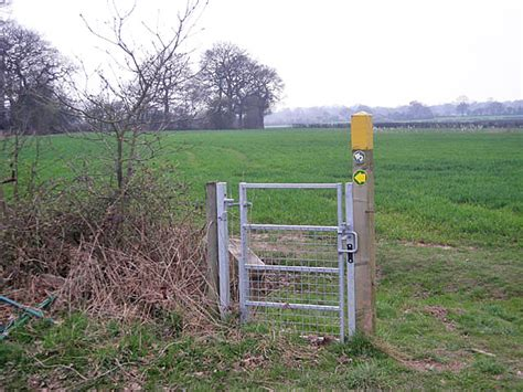Kissing Gate Without A Fence To Protect.