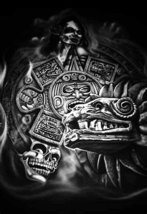 AZTEC image by MZ. T MARTINEZ | Aztec tattoo designs