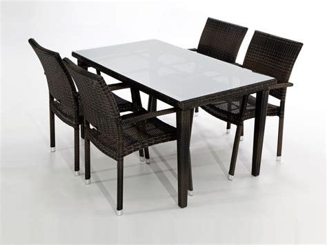 conjunto mesa  sillas garbi