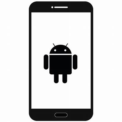 Android Phone Icon Mobile Clipart Smart Phones